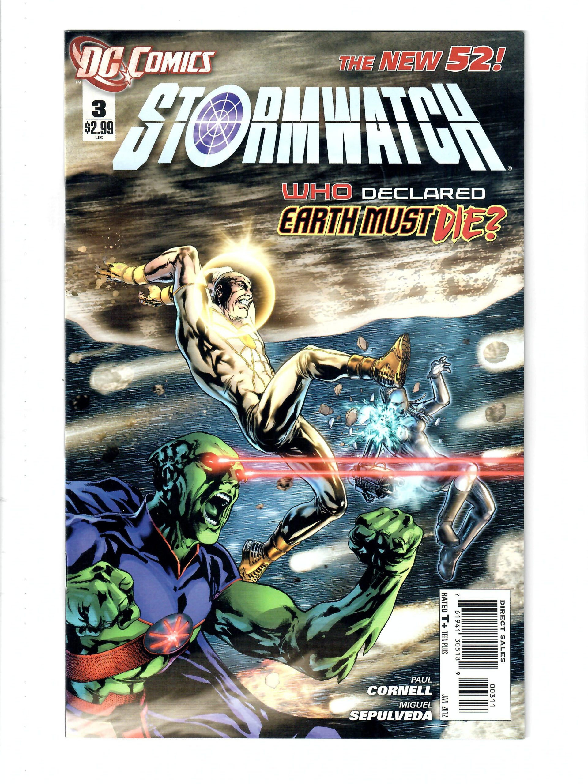 DC Comics Stormwatch The New 52! #3 Jan 2012 Comic #141840-10