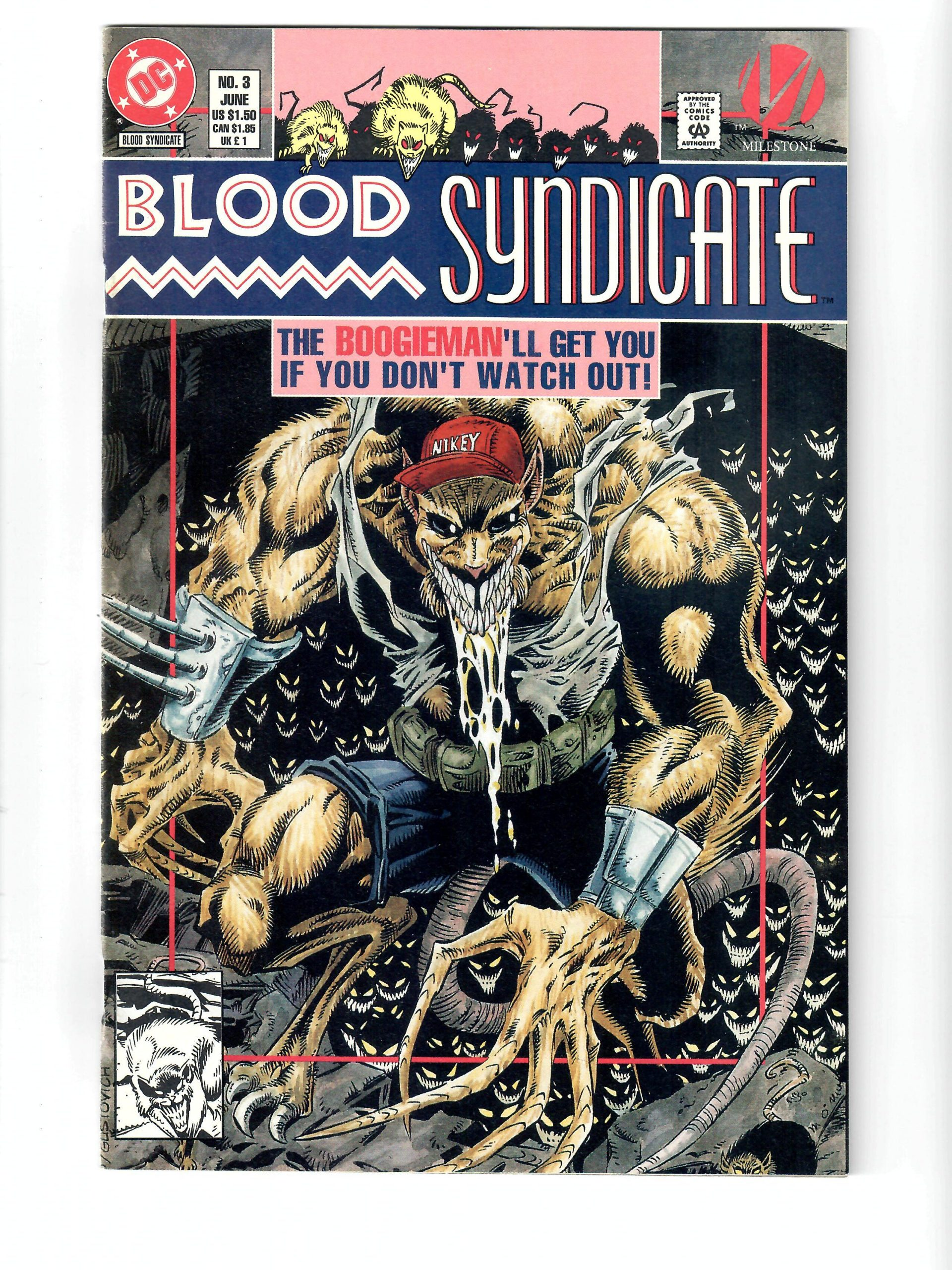 DC Comics Blood Syndicate #3 Jun 1993 Comic #141753-10