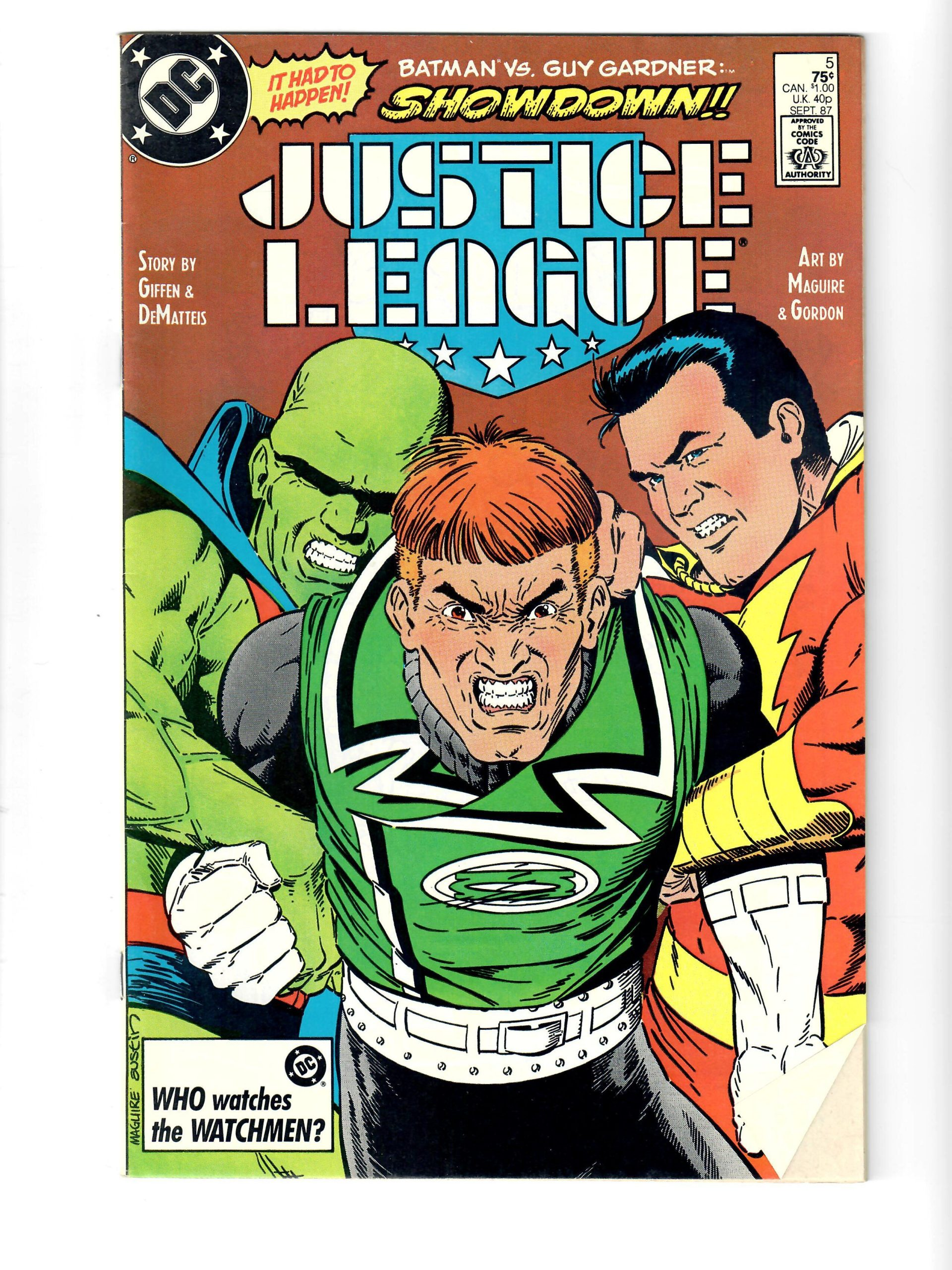 DC Comics Justice League #5 Sep 1987 Comic #141759-10