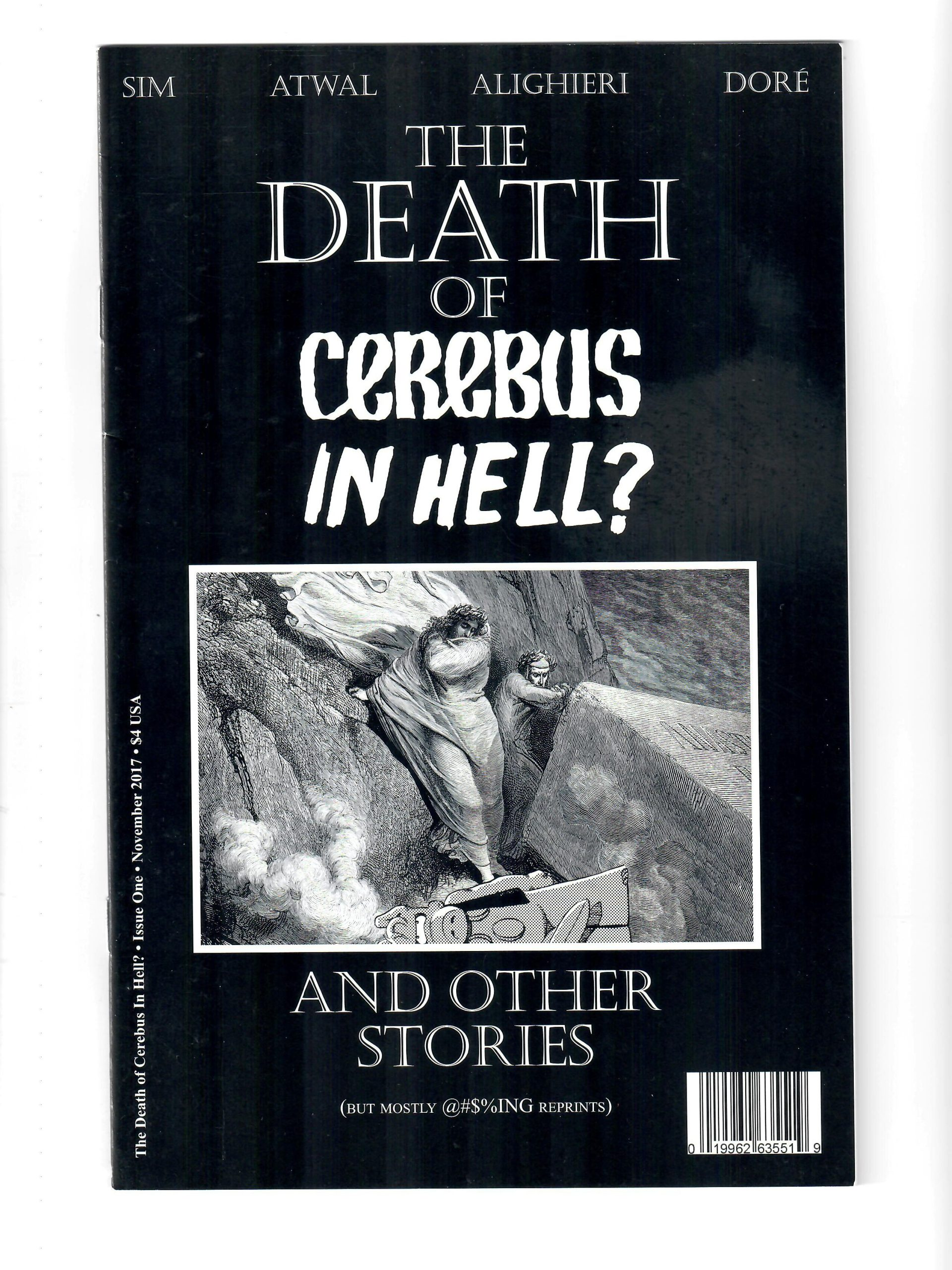 AARDVARK COMICS THE DEATH OF CEREBUS IN HELL? #1 NOV 2017 COMIC #147019-D-12