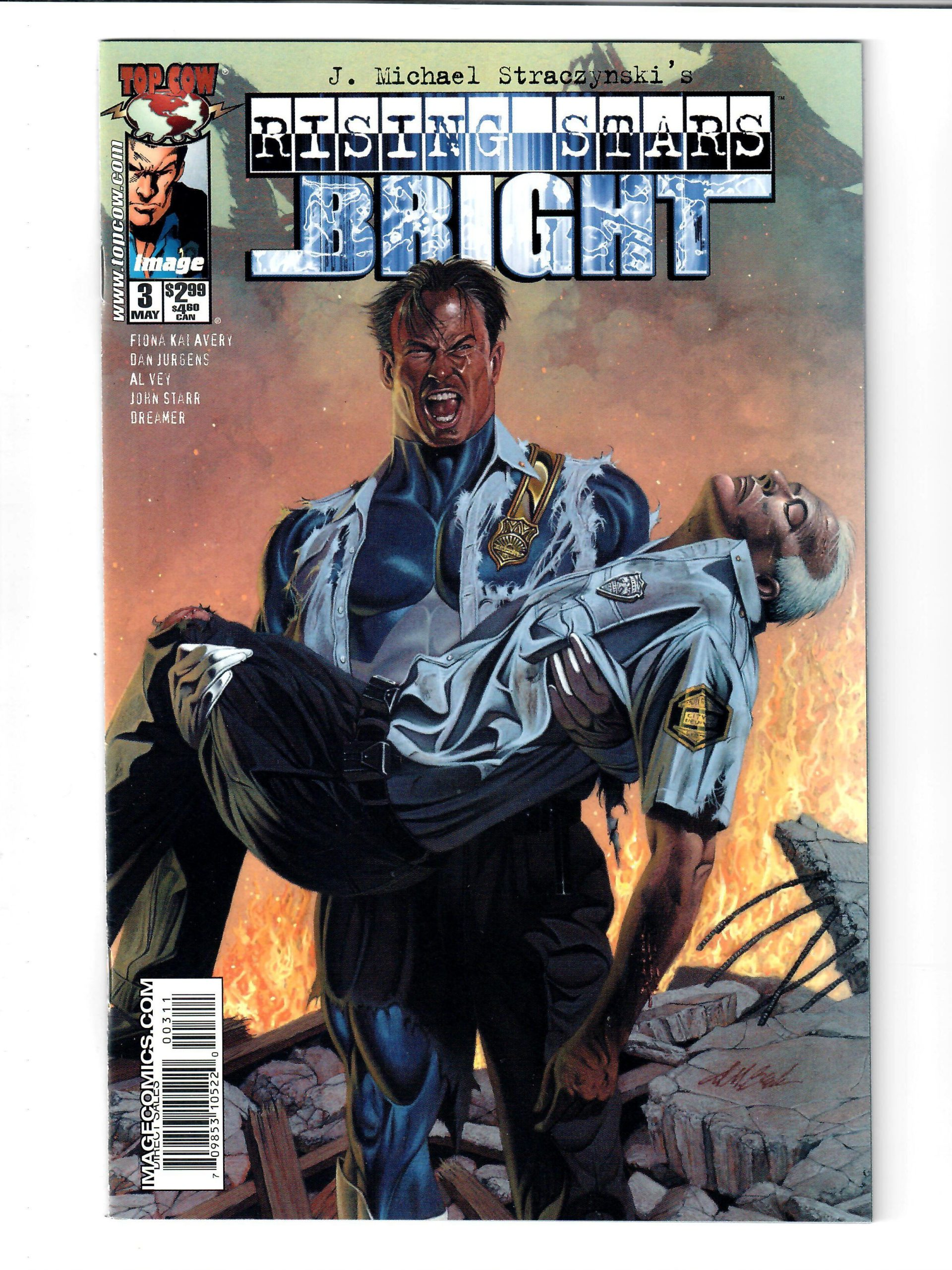 IMAGE COMICS RISING STARS BRIGHT #3 MAY 2003 VG COMIC #149836-D-2