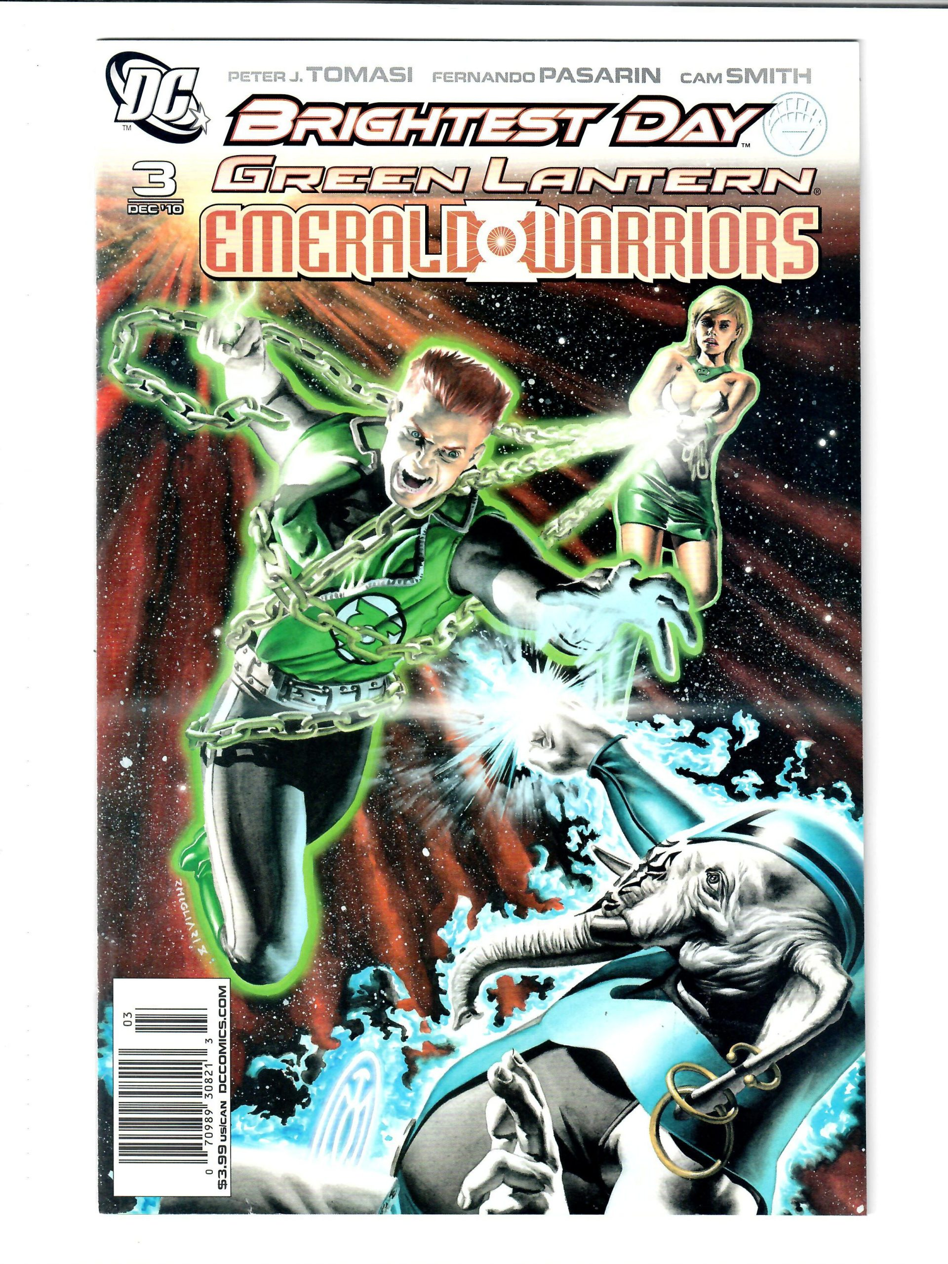 DC COMICS GREEN LANTERN #3 DEC 2010 VG COMIC #149837-D-2