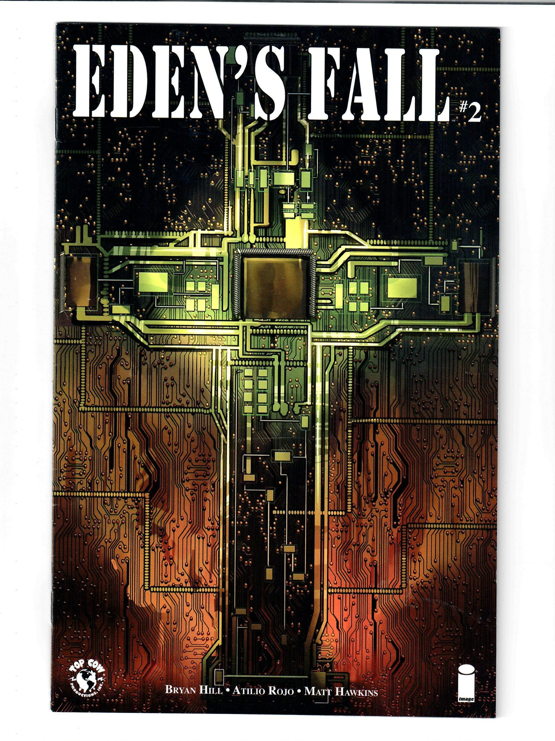IMAGE COMICS EDEN'S FALL #2 SEPT 2016 VG COMIC #149839-D-2