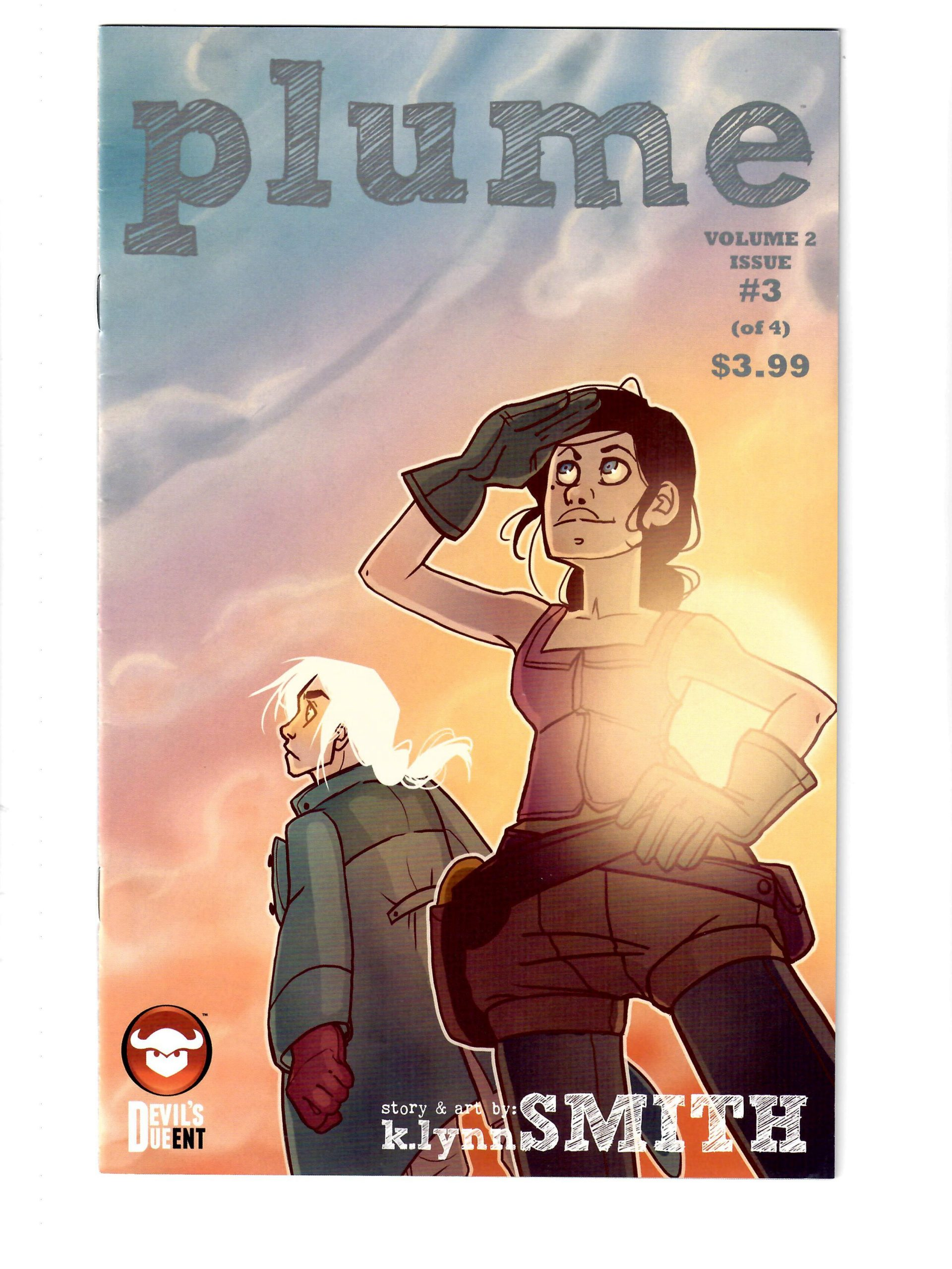 DEVIL'S DUE COMICS PLUME #3 JAN 2015 COMIC #155782