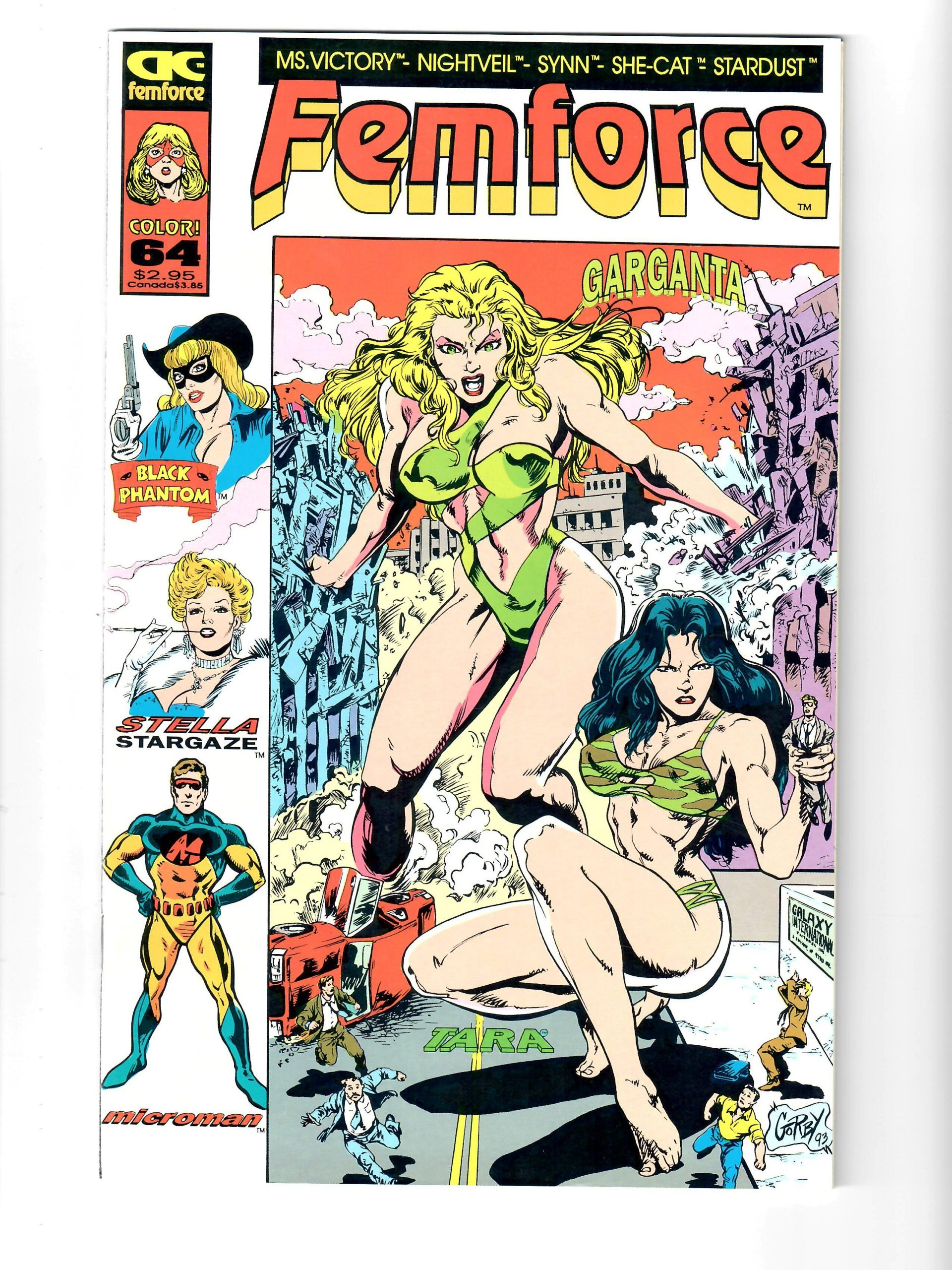AC COMICS FEMFORCE #64 1984 COMIC #157854-6