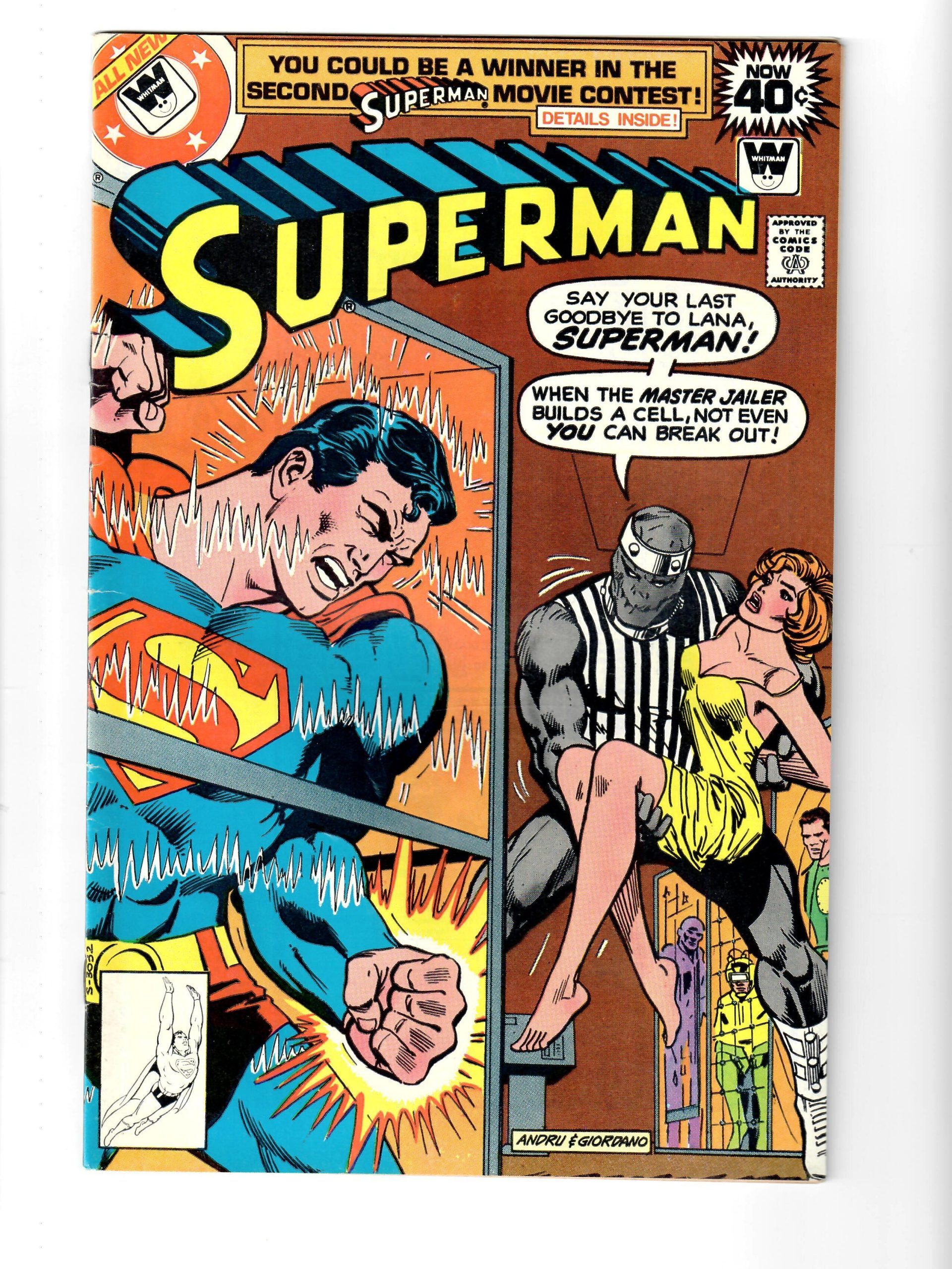 DC COMICS SUPERMAN #331 JAN 1979 COMIC #159078-7