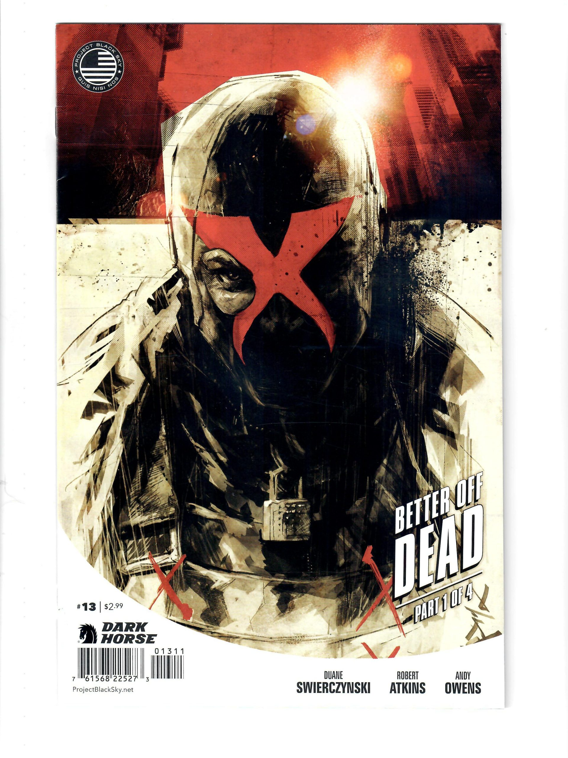 DARK HORSE COMICS X BETTER OFF DEAD #1 MAY 2014 COMIC #159217-7