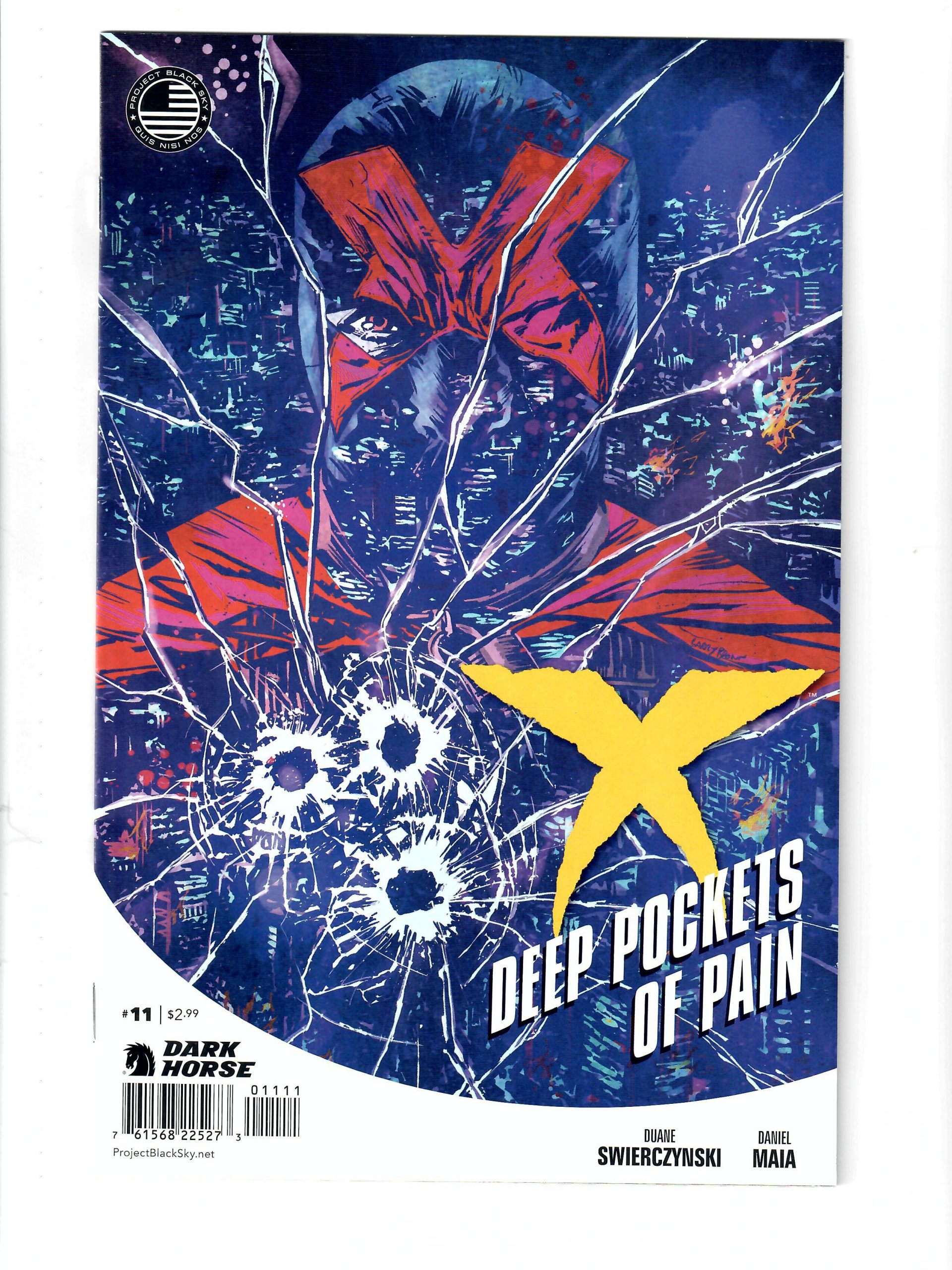 DARK HORSE COMICS X DEEP POCKETS OF PAIN #11 MARCH 2014 COMIC #159218-7